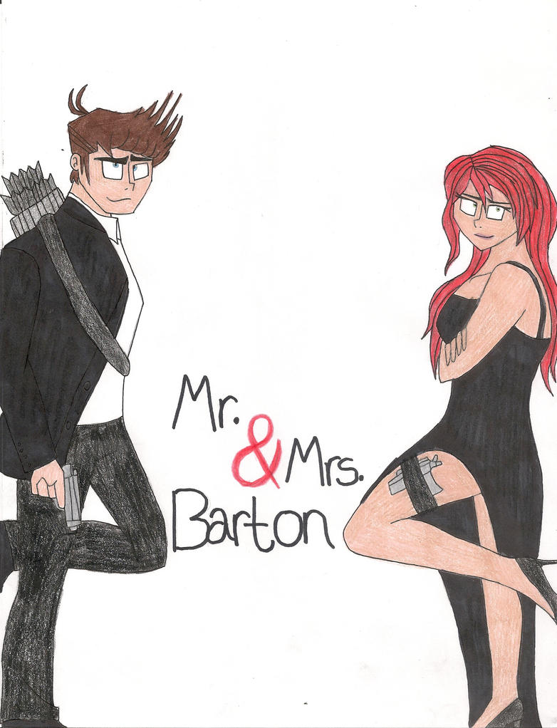 Mr. and Mrs. Barton by bdehkte