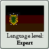 New Ulish Language Level Stamp: Expert by OddDisease