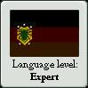 New Ulish Language Level Stamp: Expert by OddDisease