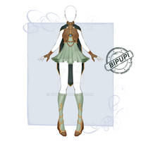 [Open] [Set price] Adoptable outfit 25