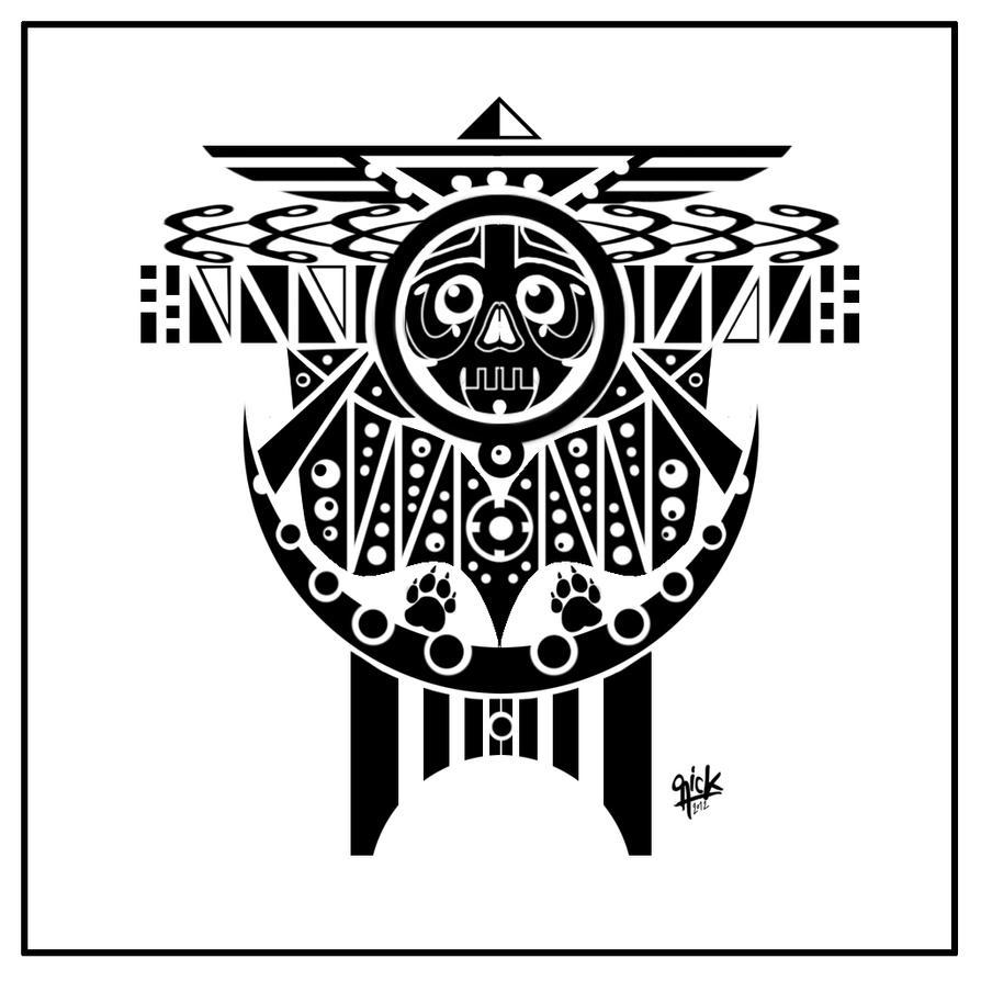 polynesian tattoo design by rickzor1983 on deviantart. Black Bedroom Furniture Sets. Home Design Ideas