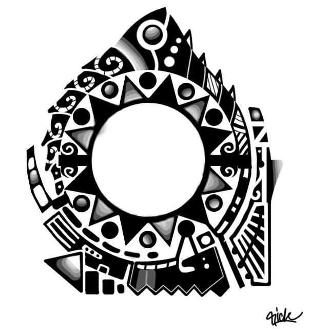 Polynesian Tribal Wallpaper: Mahori/polynesian Tattoo Design By Rickzor1983 On DeviantArt