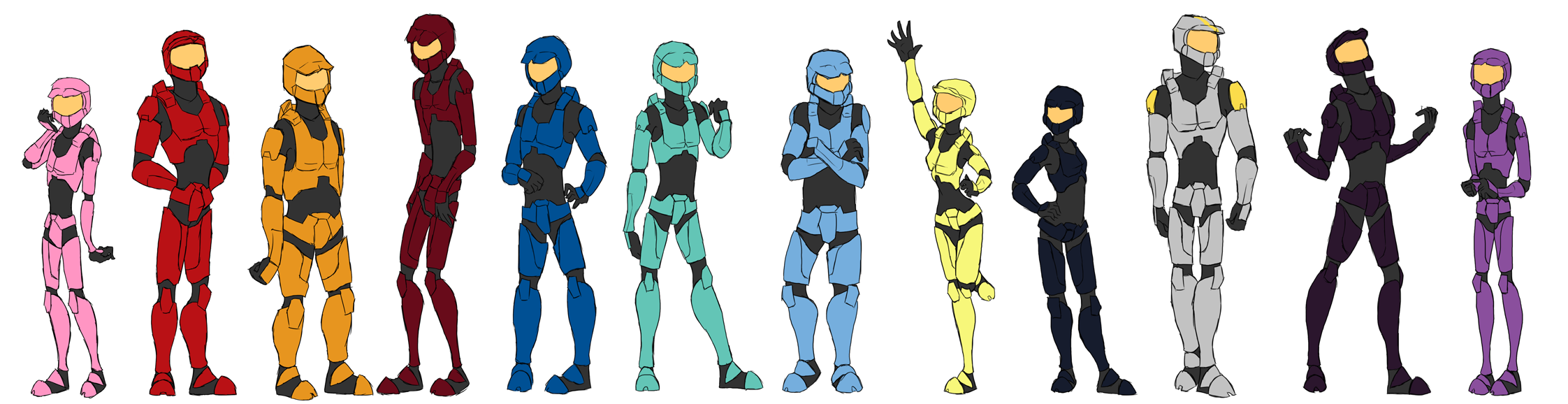 Red_vs_Blue_Cast_by_Zombaits.png