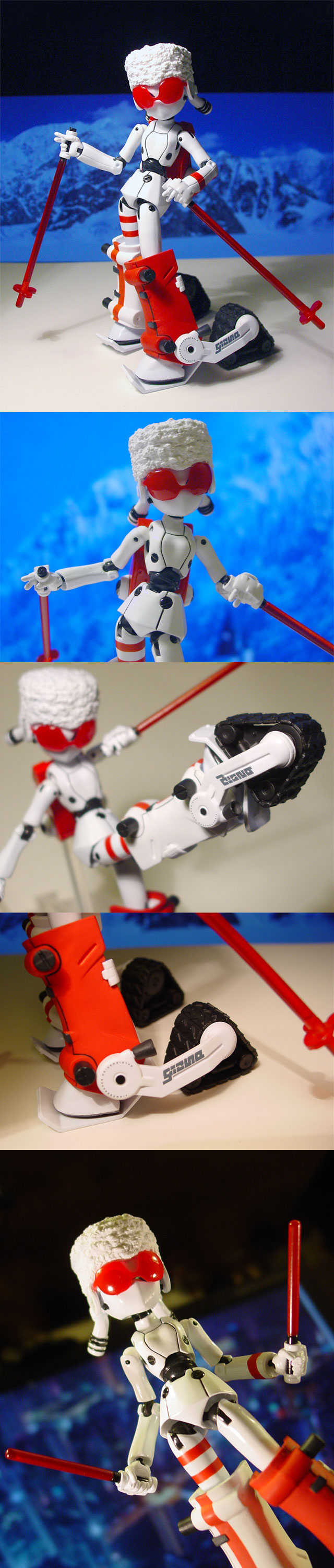 figma Winter Gizmo Drossel by oi-chan