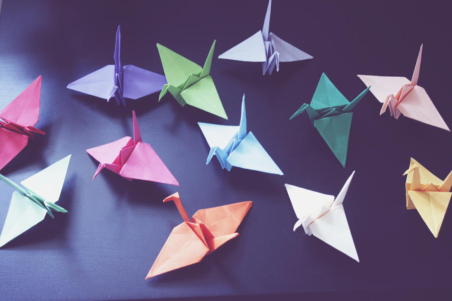 Cranes by PoetBanana