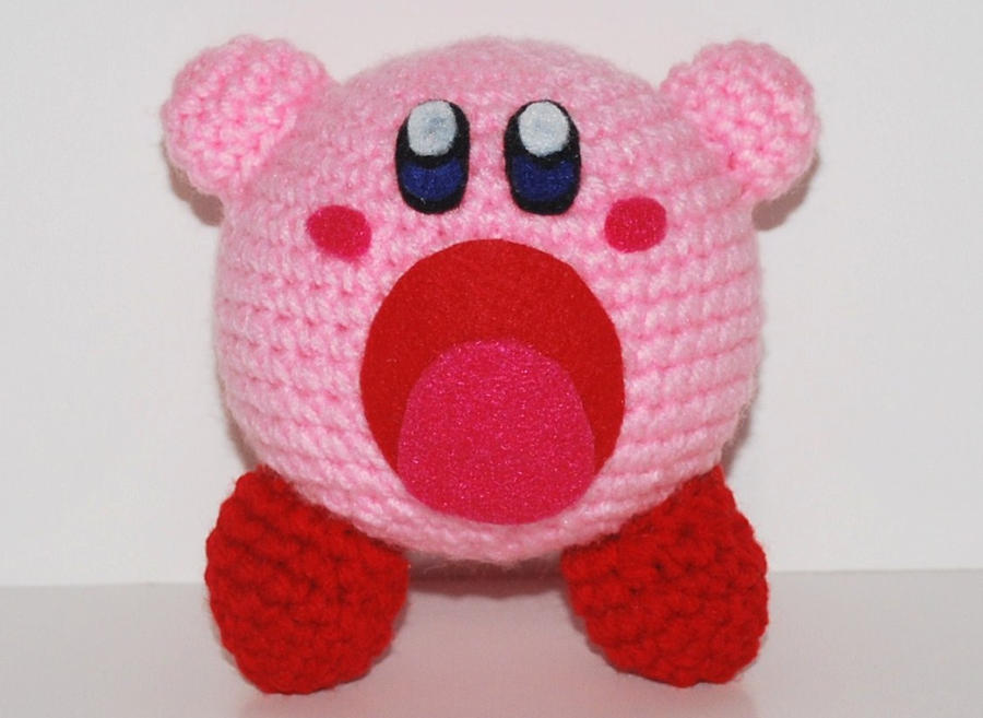 Crochet Patterns Amigurumi Monkey : Kirby by craftyhanako on DeviantArt