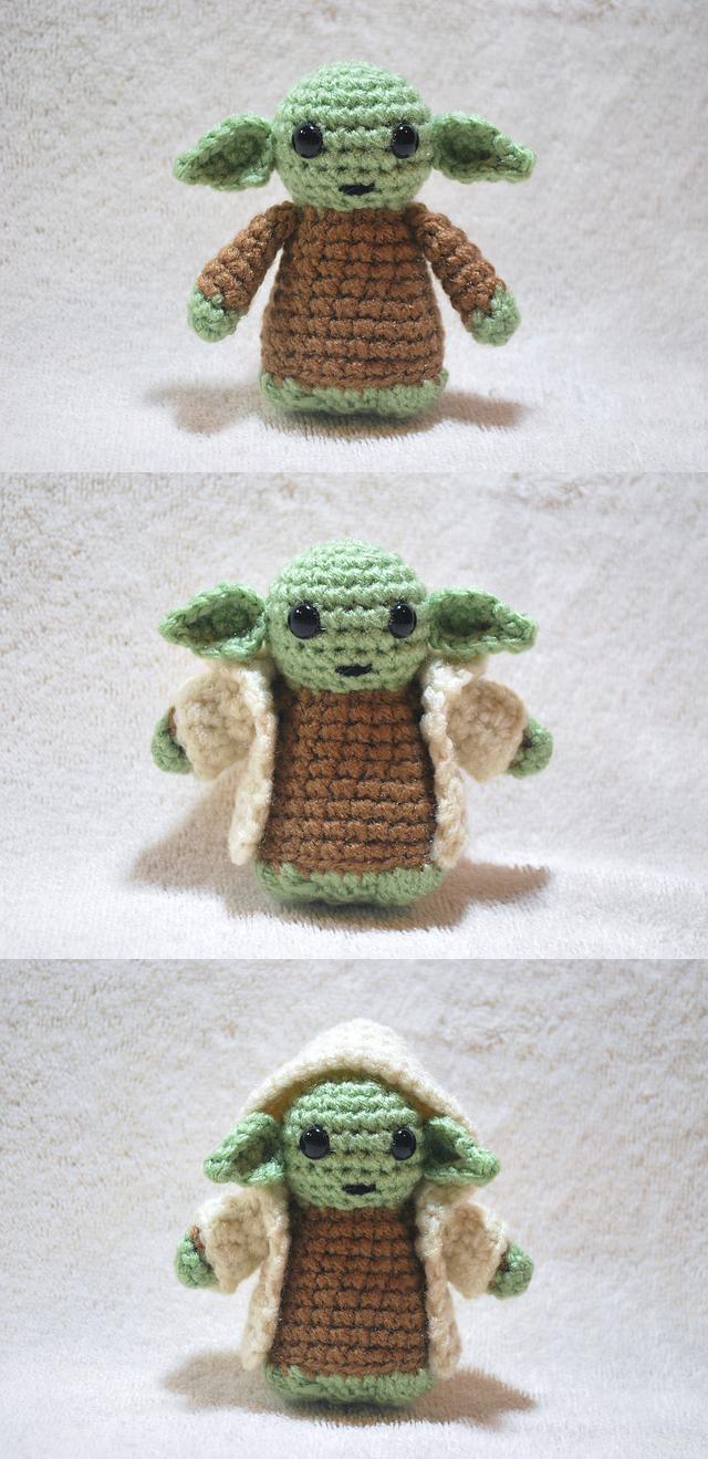 Yoda by craftyhanako