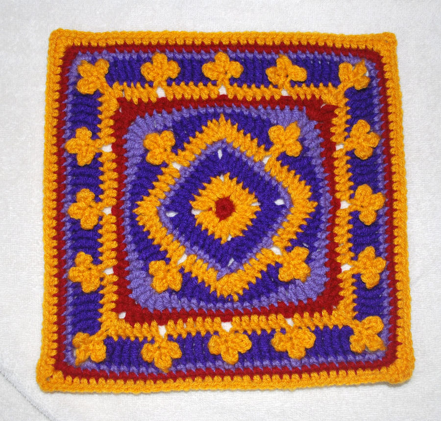 Aladdin's Magic Carpet Square by craftyhanako on DeviantArt