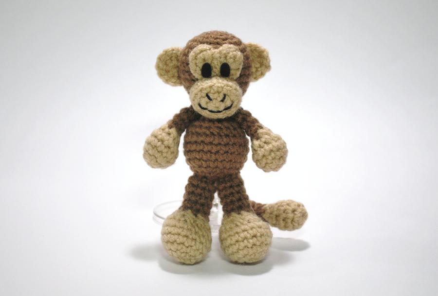 Amigurumi Monkey Free Pattern   Affe häkeln, Kostenlose ...   609x900