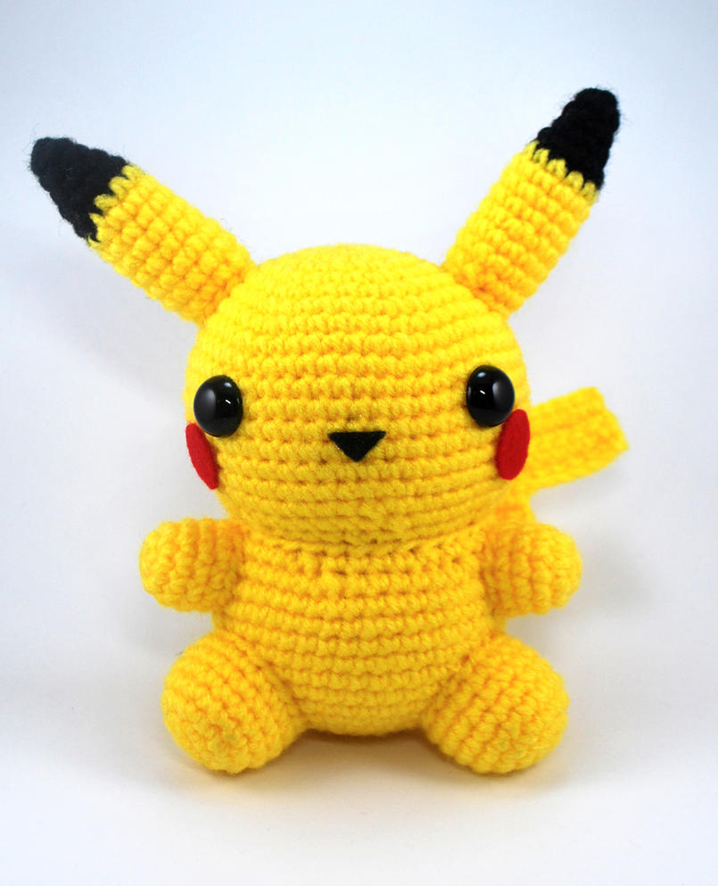 Pikachu En Amigurumi : Chubby Pikachu by craftyhanako on DeviantArt