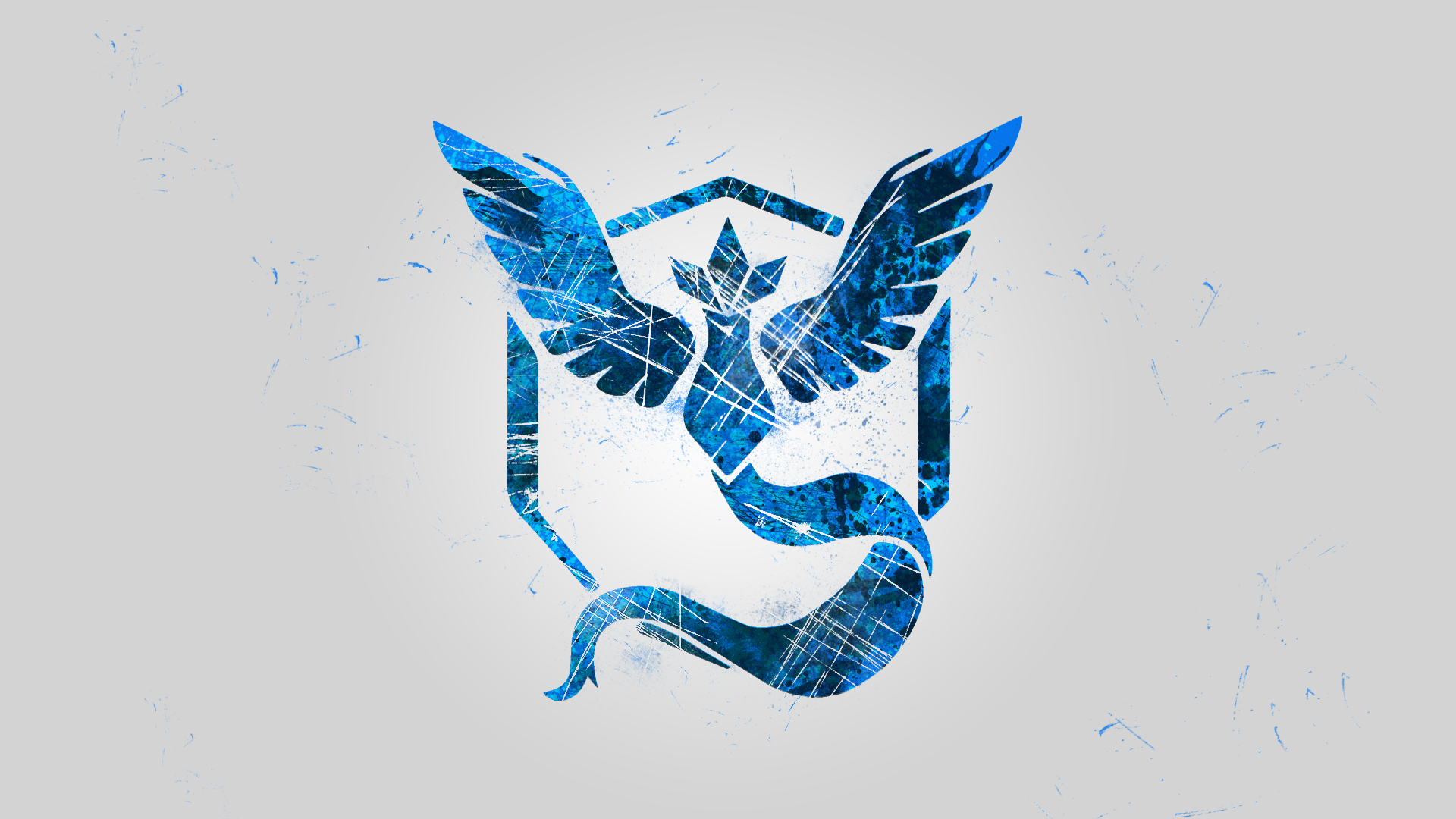 how to draw team mystic logo from pokemon go