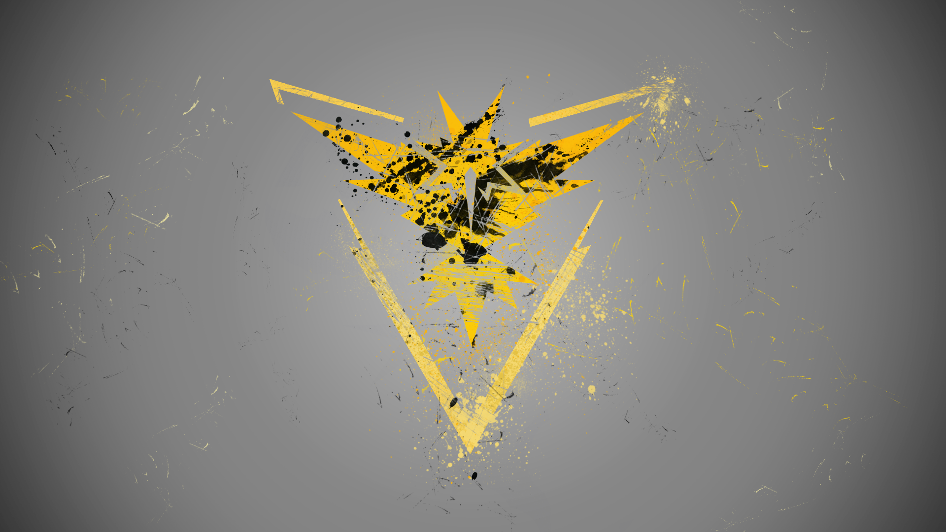 Team Instinct Wallpaper Pokemon Go By Esvagy On Deviantart