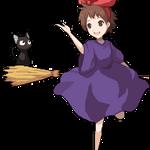 Kiki and Jiji by MieuChan