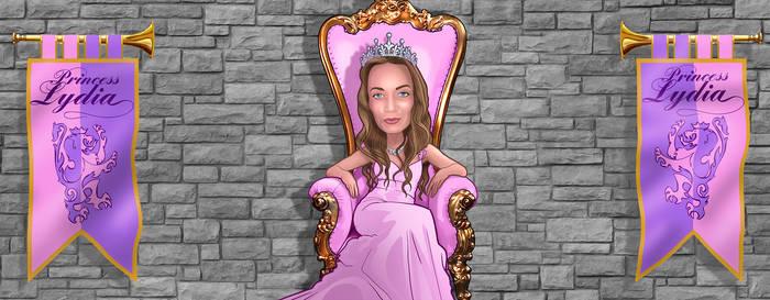 Lydia Princess Throne