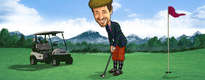 Matt Golfing