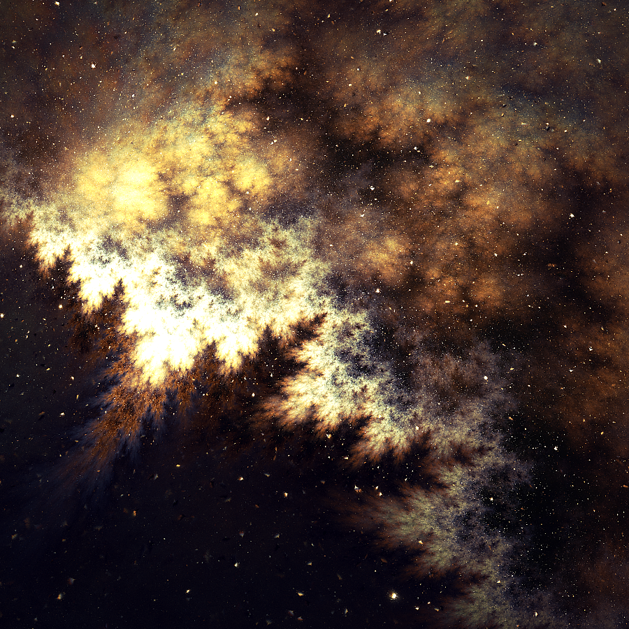 What happens in space... by JanRobbe on DeviantArt  Fractals In Space