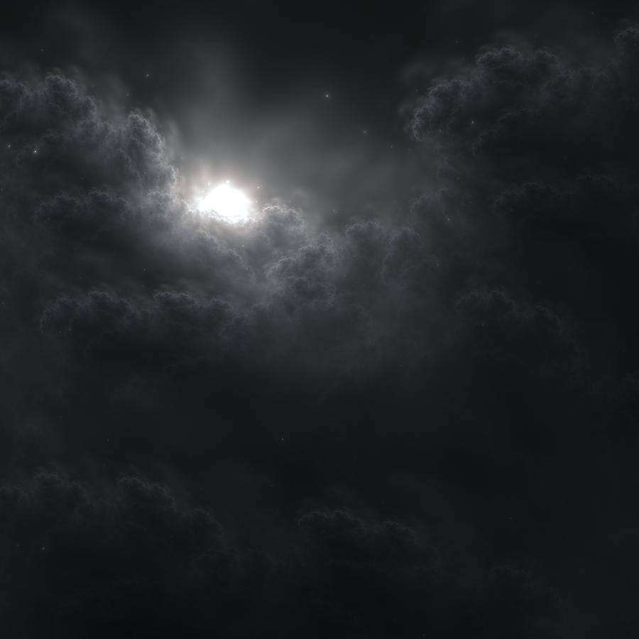 Night Sky by JanRobbe