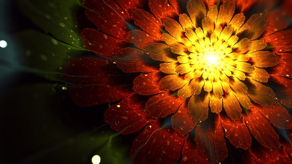 Radiance (HD Desktop Wallpaper) by JanRobbe