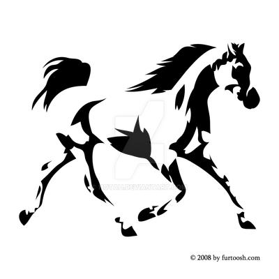 Arabian horse head clipart - photo#21