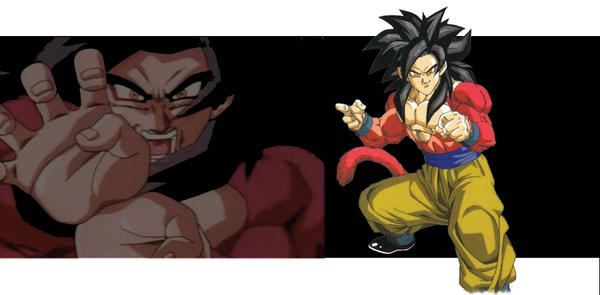DBGT Goku SSJ4 by FLARE323