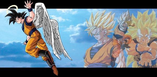 DBZ Goku Memories by FLARE323
