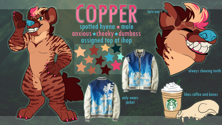 Copper Ref by cryptidcrocuta