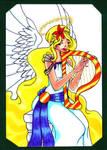 Christmas angel by Demon-Spirit