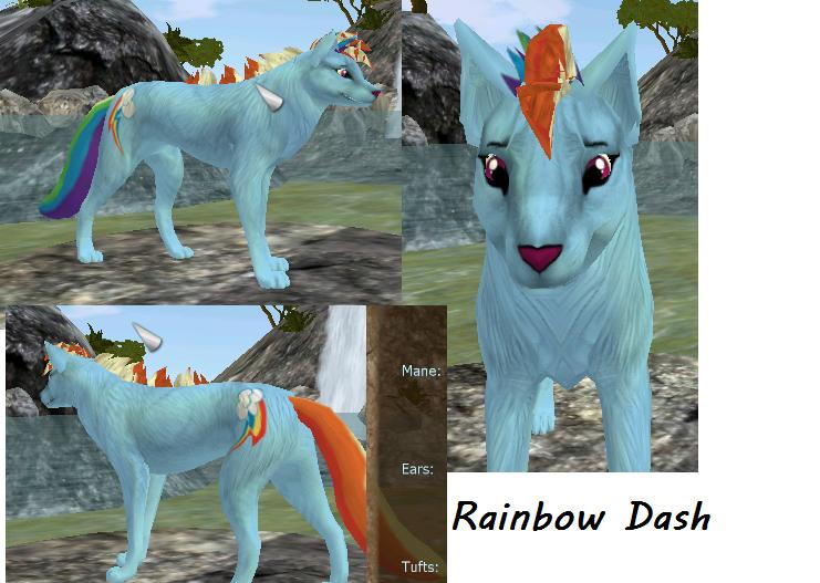 .:pc:. Rainbowdash by Letipup