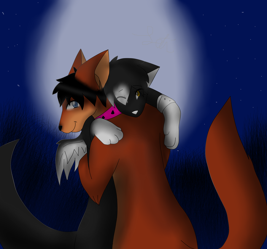 .:RQ:. Moxy and ash by Letipup