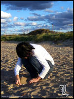 Death Note: L's Sand Cake by Maru-Light