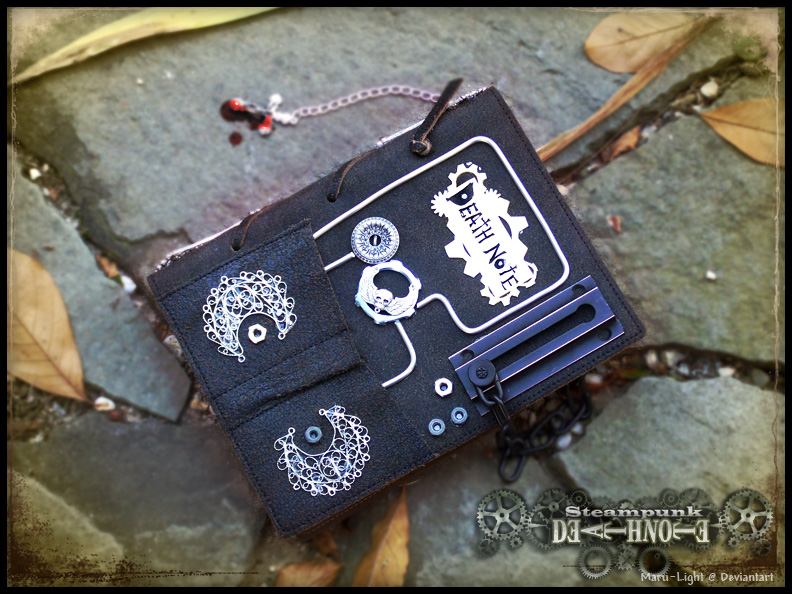 Steam Punk Death Note by Maru-Light