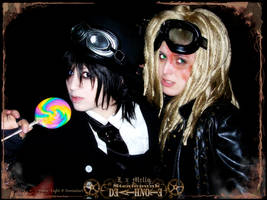 Death Note: Steampunk Dreads