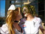 Joker x Harley: Nurses Kiss