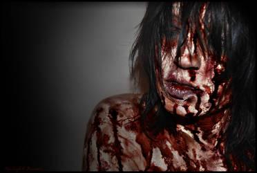B: Cadaver with No Flesh by Maru-Light