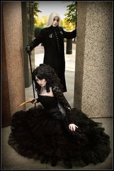 Bellatrix and Lucius