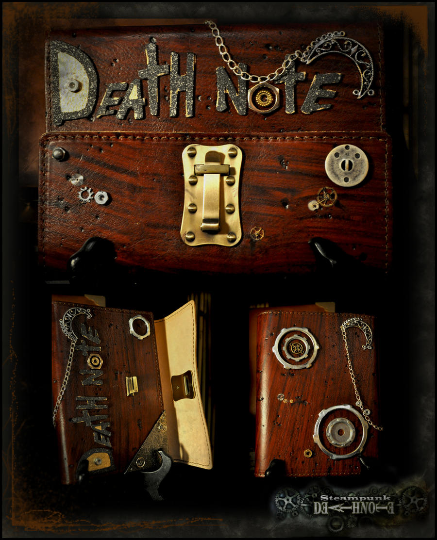 Steampunk's Death Note by Maru-Light
