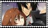 Kurumi and Xanxus Stamp by TrollerBridge