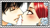 Akuma To Love Song Stamp: Shin x Maria by TrollerBridge