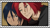 Levon and Mukuro Stamp by TrollerBridge