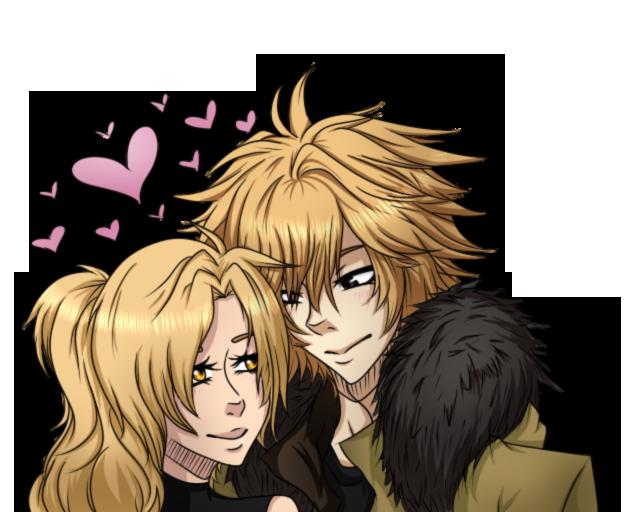 Blonde Brigade: Dino and Nerina by TrollerBridge