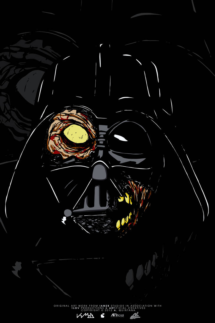 Vader Zombie by z4ngetsu