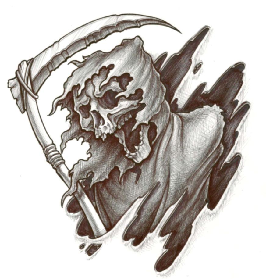 Grim reaper by cbader on deviantart grim reaper by cbader voltagebd Images
