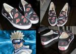 akatsuki customized shoes