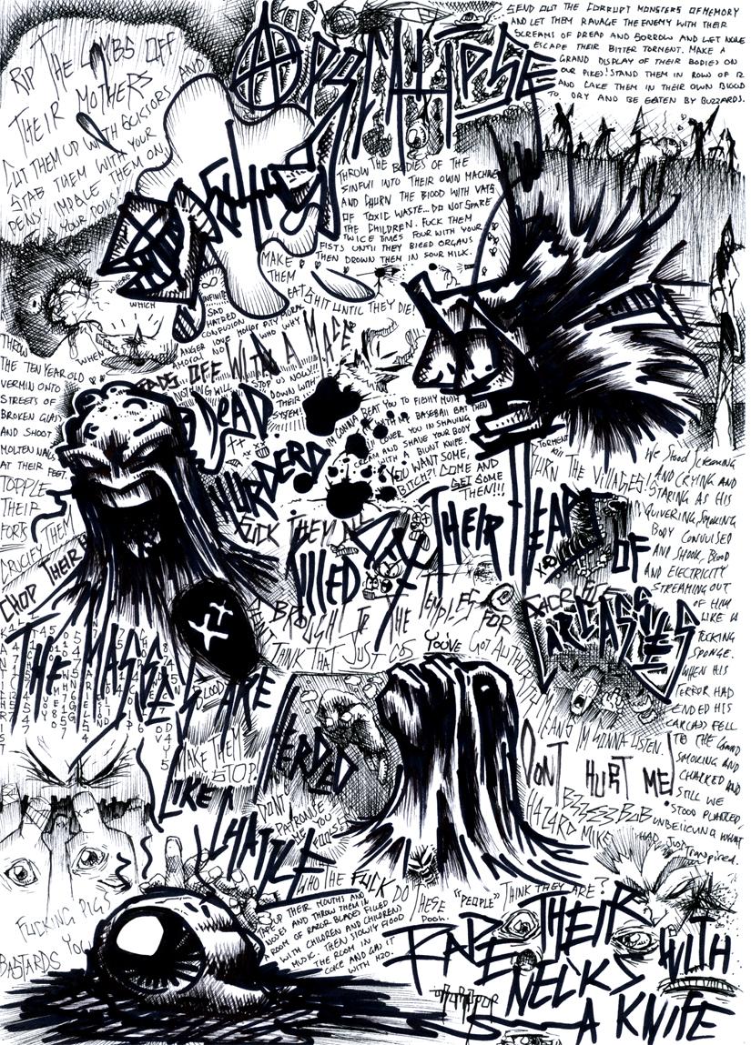 Rant of an evil soul by b33lz3bub