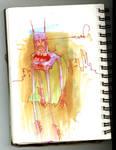 shitty batman scribble