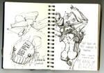 July Sketch Binge II
