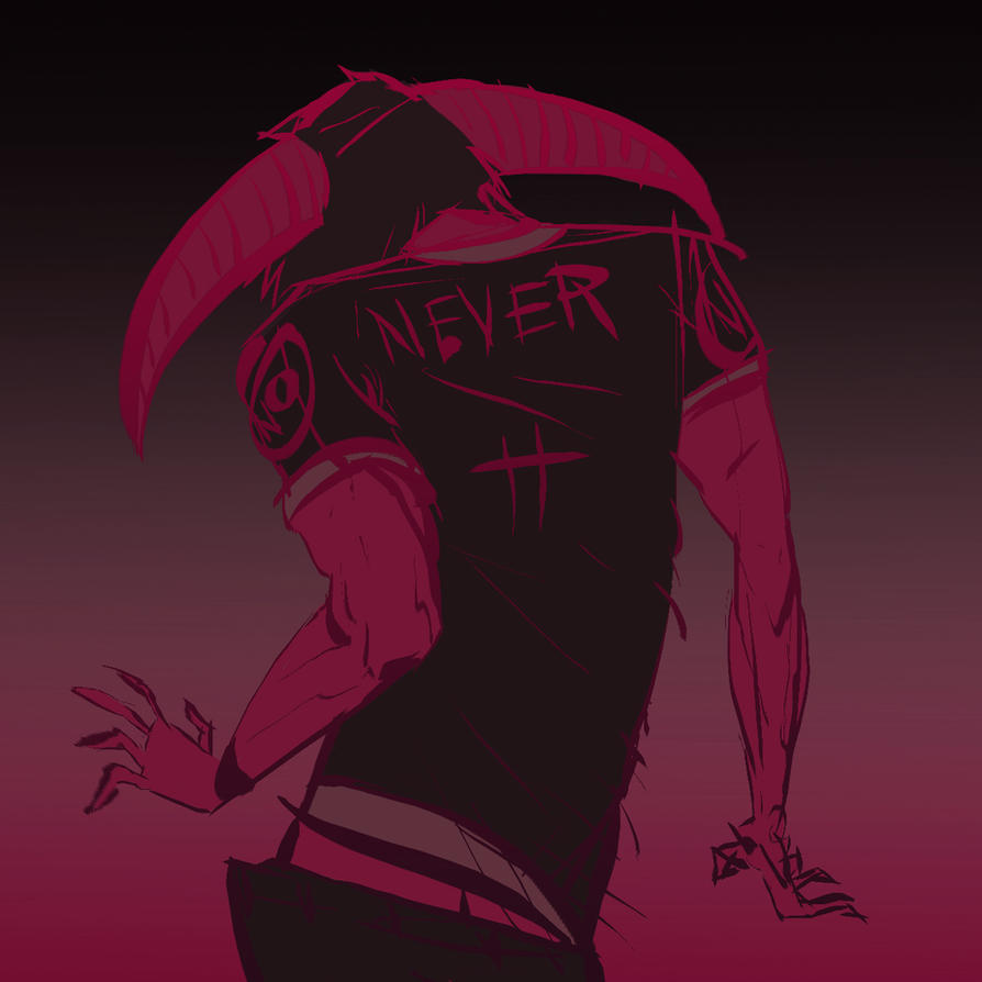 never by b33lz3bub