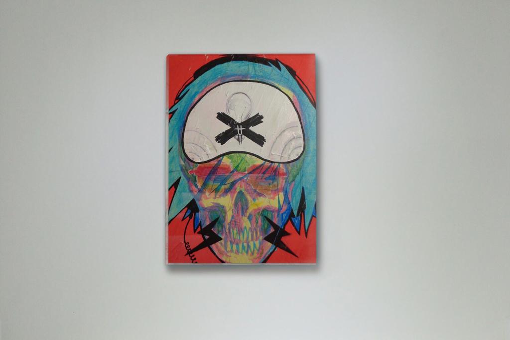Electric Skull by b33lz3bub