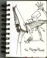 The Ribcage Rhomp by b33lz3bub