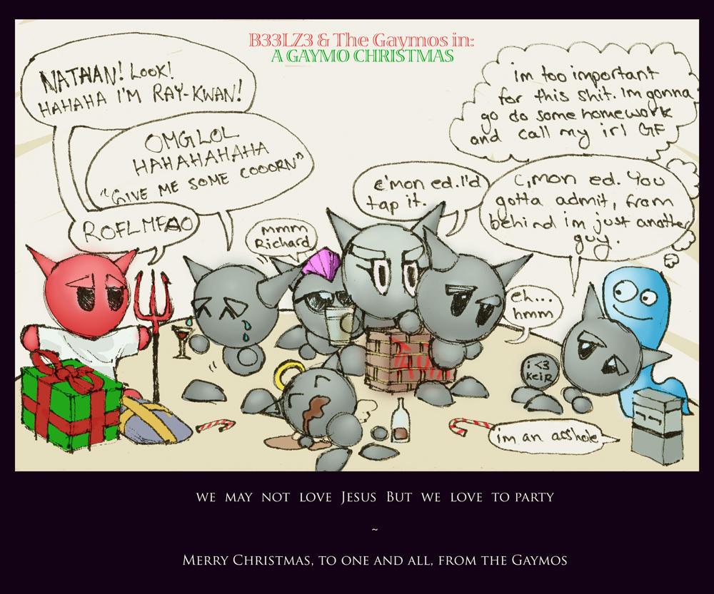 the gaymos christmas special by b33lz3bub